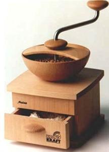 handbteriebene Getreidemuehle - Kornkraft Mulino Handgetreidemühle