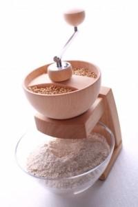 handbetriebene Getreidemuehle - Kornkraft Getreidemühle Mia Mola Handmühle